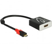 Adaptor USB tip C la HDMI T-M 4K 60 Hz (DP Alt Mode), Delock 62730