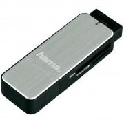Card reader Hama 123900 USB 3.0 SD / microSD Silver