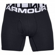 Under Armour - Charged Cotton 6'' 3 Pack - Ondergoed maat L zwart