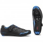 Northwave Extreme GT Road Shoes - Black/Blue Metal - EU 47