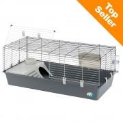 Ferplast Rabbit 120 клетка за малки животни - сив: Д 118 x Ш 58,5 x В 51,5 см