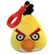 Angry Birds Plush Backpack Clip Yellow Bird