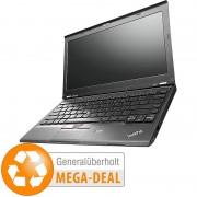 "IBM ThinkPad X230, 31,8 cm/12,5"", 128 GB SSD, Docking (generalüberholt)"