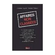 Affaires non classées - Frédéric English - Livre