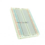 chonlakrit 10PCS Mini Universal Solderless Breadboard 400 Contacts Tie-points Available