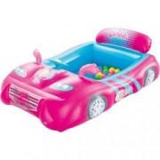 Masinuta BestWay de Curse Gonflabila Barbie cu 25 de Bile