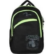 Spykar Shoulder Coutioned Strap Waterproof Backpack(Black, 5 inch)