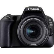 Canon Systemkamera Digital Canon EOS 200D inkl. EF-S 18-55 mm IS STM 24.2 MPix Svart