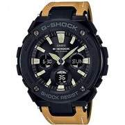 Casio G-shock Analog-Digital Black Dial Mens Watch-G736 (GST-S120L-1BDR)