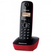 Telefon DECT rosu/negru, KX-TG1611FXR, Panasonic, TESTARE in showroom