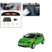 Auto Addict Car White Reverse Parking Sensor With LED Display For Volkswagen Polo Exquisite