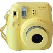 Fujifilm Instax Mini8 - GIALLA - Fotocamera a Pellicola Istantanea - 2 Anni Di Garanzia