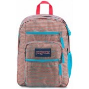 JanSport Big Student Disruption 34 L Backpack(Blue, Orange)