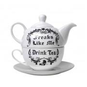 Set da tè ALCHEMY GOTHIC - Freaks Like Me Drink Tea - ATS2