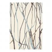 Brink & Campman tapijt 78104 Xian Drip - crème/grijs - 70x140 cm - Leen Bakker