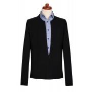 Jacheta barbati cu fermoar - neagra
