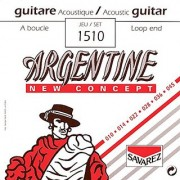 Savarez 1510 Argentine Acoustic Jazz Guitar Strings Standard Tension Loop End
