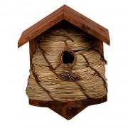 Merkloos Nestkastje bijenkorf / vogelhuisje 25.8 cm