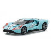 Greenlight 1:64 2017 Ford GT Racing Heritage Series (Blue) 1966 #1 Ford MKII