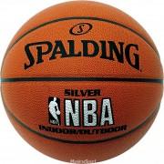 Minge de baschet Spalding NBA Silver marimea 7