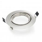 Рамка за SPOT лампа за вграждане [lux.pro]® Ø 90mm, цвят Никел