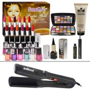 Demand Combo Makeup Sets With Hair Straightener Pack of 30