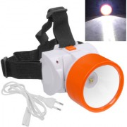 Rechargeable Ultra Bright 1 Big Led Headlight Headlamp Head Lamp Torch Flashlight - 44