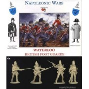 Napoleonic War British Foot Guards Infantry 16 Unpainted Plastic Figures In 4 Poses 1/32 Scale A Call To Arms Compatible With Airfix Armies In Plastic Marx Type By A Call To Arms