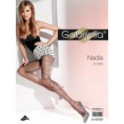 Gabriella - Subtle patterned tights Nadia 20 den