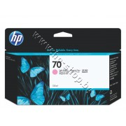 Мастило HP 70, Light Magenta (130 ml), p/n C9455A - Оригинален HP консуматив - касета с мастило