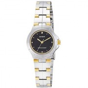 Casio Enticer Analog Black Dial Womens Watch - LTP-1242SG-1CDF (A906)
