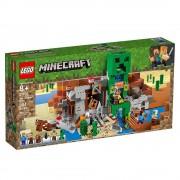 Lego set de construcción lego minecraft la mina de creeper 21155