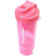 Shaker SMARTSHAKE SLIM 1 Compartimento 600 Ml Color Neon Pink.