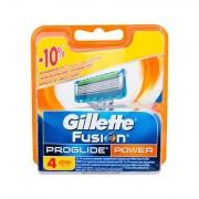 Gillette Fusion Proglide Power lama di ricambio 4 pz uomo