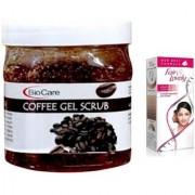 Fair & Lovely Advanced Multi Vitamin Face Cream 80G and Biocare Coffee Gel Scrub 500ml