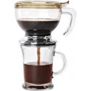 Zevro KCH-06066 Personal Coffee Maker(Clear)