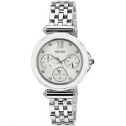 Seiko Analog White Round Women's Watch-SKY701P1