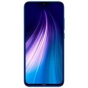 "Telefon Mobil Xiaomi Redmi Note 8, Procesor Snapdragon 665 Octa-Core 2.0/1.8GHz, IPS LCD Capacitive touchscreen 6.3"", 4GB RAM, 128GB Flash, Camera Quad 48 + 8 + 2 + 2 MP, 4G, Wi-Fi, Dual SIM, Android (Albastru) + Cartela SIM Orange PrePay, 6 euro credit,"