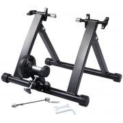 Costway Soporte de Ciclismo Bicicleta Estática Rodillo de Entrenamiento Plegable Carga max. 150kg