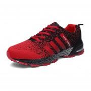 Zapatillas Deportivas Correr Para Parejas De Ocio - Rojo