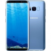 "Smartphone, Samsung GALAXY S8+, 6.2"", Arm Octa (2.3G), 4GB RAM, 64GB Storage, Android 7.0, Coral Blue (SM-G955FZBABGL)"