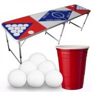 StudyShop Billiges Beer Pong-Set inkl. 50 Becher und 6 Bälle