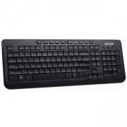 Клавиатура DELUX DLK-3100U USB кирилизирана, Черна, DLK-3100U_VZ