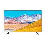 "Телевизор Samsung 43TU8072 43"", 4K 3840 x 2160 UHD LED TV, SMART, 2100 PQI, HDR 10+, Crystal Processor 4K, Dolby Digital Plus, Bixby, AirPlay 2, DLNA, DVB-T2CS2, WI-FI, 3xHDMI, 2xUSB, Tizen, Черен"