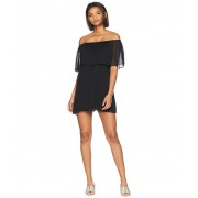 BB Dakota Manic Pixie Dream Off the Shoulder Dress Black