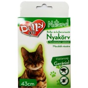 Dolly Bolha-Kullancs nyakörv Macska Zöld 43cm - 1x