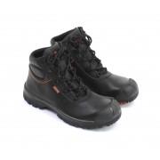 EMMA BILLY Veiligheidsschoenen Hoge Werkschoenen S3 - Zwart - Size: 42