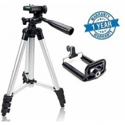 Akshar Tripod-3110 40.2 inch Portable Camera Tripod with 3-Dimensional Head and Quick Release Plate for Cameras mobile