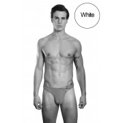 Lookme BAD BOY One Sided Lace Up G String Underwear White 39-57