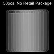 50 stuks voor iPhone SE & 5 & 5S 0 26 mm 9H oppervlakte hardheid 2.5D explosieveilige terug getemperd glas Film No retailpakket